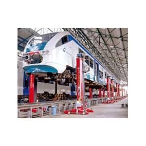 Traukinių, Vagonų keltuvai