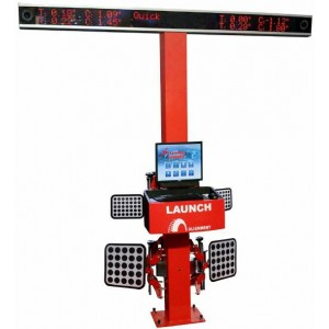 3D Ratų suvedimo stendas LAUNCH X-712