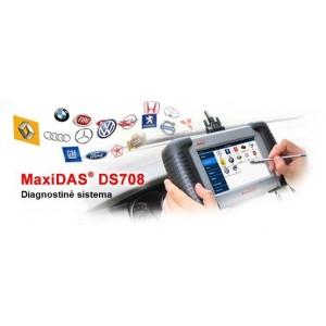 Diagnostinė sistema AUTEL MAXIDAS DS708/RU