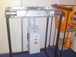 ELEKTRO hidraulinis duobinis ašies keltuvas EDK