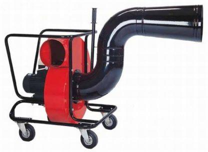 Skirtas automobilių išmetamųjų dujų pašalinimui iš autoserviso patalpos ir kt.