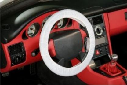 Vienkartinis vairo užvalkalas su gumyte