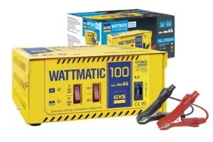 Akumuliatoriaus pakrovėjas WATTMATIC 100