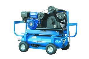 Mobilus stūmoklinis kompresorius SB4/С-90LB75 (benzininis variklis)