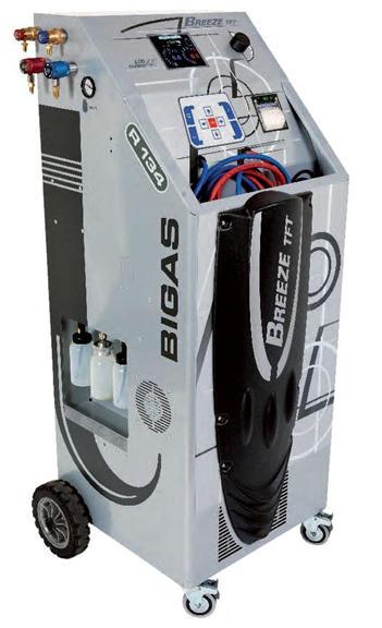 Automatinis kondicionierių pildymo prietaisas Breeze Evolution TFT Bigas (Spin)