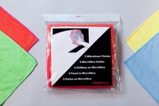 Mikrofibros šluostės (5 vnt)