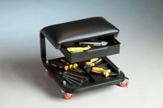 Darbo kėdutė - įrankių laikiklis