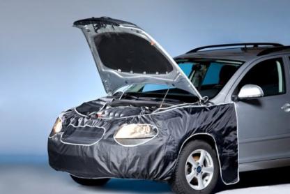mašinos priekio apsauga