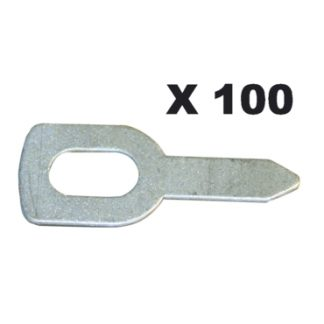 Traukimo žiedai (100 vnt.)