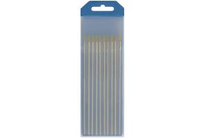 10 elektrodų 150 mm Lantano - Volframo WL15 (Geltoni)