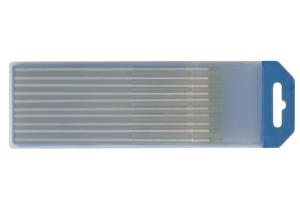 10 elektrodų 150 mm, grynas Volframas, Ø 1,6 mm