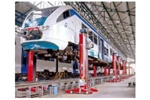 Traukinių ir vagonų keltuvai
